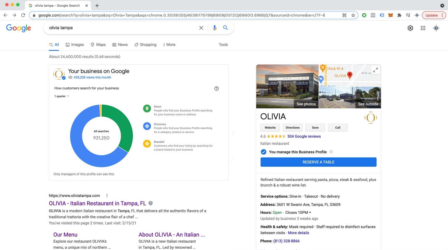 case-study-olivia-tampa-website-analytics-Google-sky-compass-media